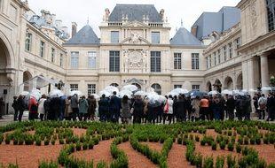 Le musée Carnavalet-Histoire de Paris lors de son inauguration le 26 mai 2021