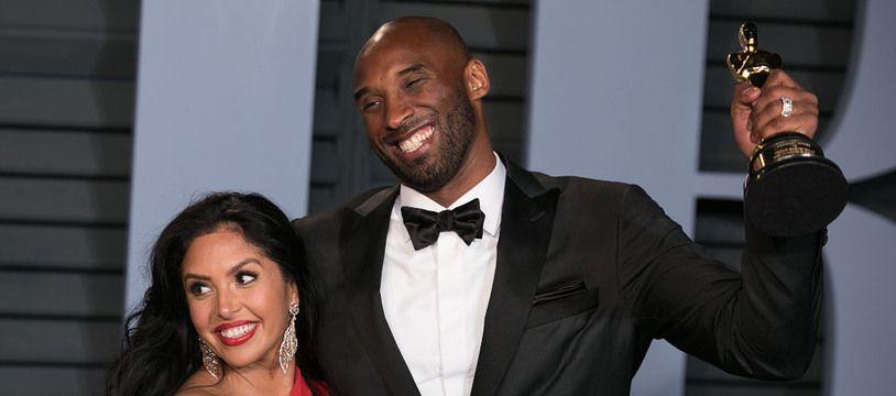 Les époux Vanessa et Kobe Bryant