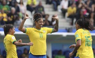 Triple buteuse ce dimanche face à la Jamaïque, Cristiane a éclaboussé le stade des Alpes de son talent.