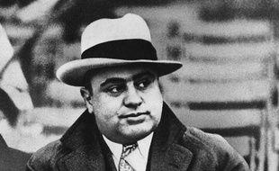 Al Capone, illustration.