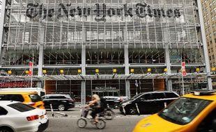 Le bâtiment du New York Times à New York, en juillet 2017.