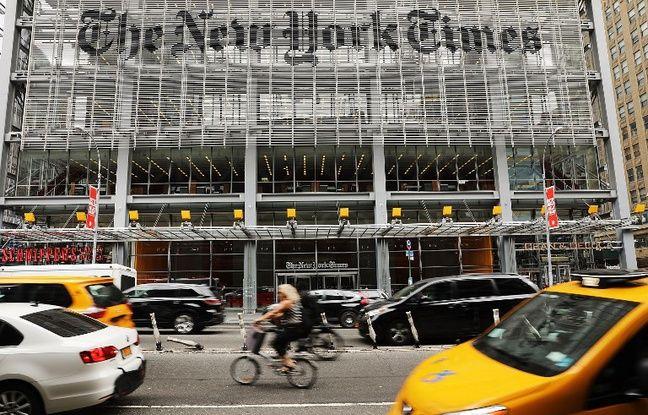 Le patron du New York Times met en garde Trump après ses multiples attaques contre la presse
