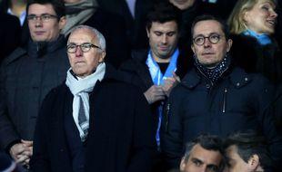 Frank McCourt et Jacques-Henri Eyraud assurent que l'OM n'est pas à vendre.