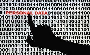 Illustration des données personnelles sur Internet.