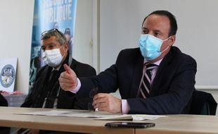 Le procureur de la République Philippe Astruc, ici le 18 novembre 2020 après une importante saisie de stupéfiants à Rennes.