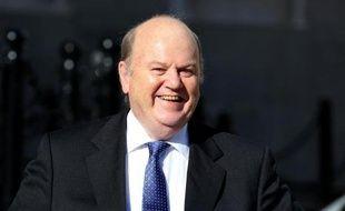 Le ministre irlandais des Finances Michael Noonan, le 15 octobre 2013 à Dublin