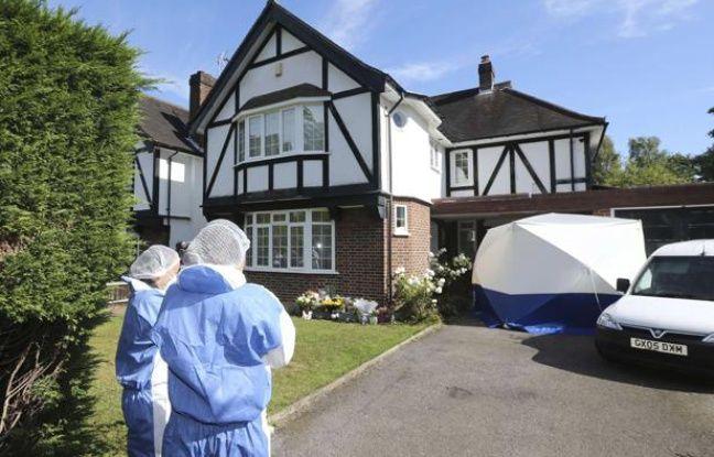 La police scientifique devant la maison de la famille al-Hilli à Londres, le 8 septembre 2012.