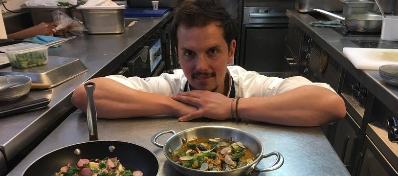 Juan Arbelaez et trois plats susceptibles de remplacer le poulpe
