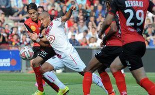 Les Girondins de Khazri lors de Guingamp-Bordeaux joué le 14 septembre 2014.