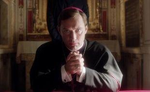 Extrait du teaser de «The Young Pope», la série avec Jude Law