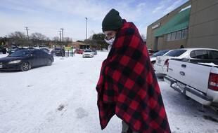 A Austin, au Texas, le thermomètre est descendu jusqu'à -12°C le 15 février 2021.