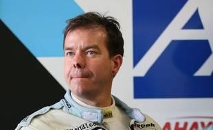 Frédéric Sausset lors des 24 Heures du Mans 2016.