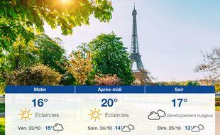 Météo Paris: Prévisions du jeudi 22 octobre 2020