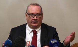 Le procureur de la République de Grenoble a annoncé la découverte des restes de Maëlys, ce mercredi 14 février 2018.