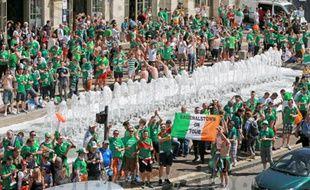 Les supporters Irlandais à Lille.