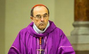 Le cardinal Barbarin, le 28 novembre 2015.