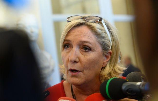Marine Le Pen ne veut pas laisser Emmanuel Macron «faire campagne tout seul» pour la présidentielle 2022