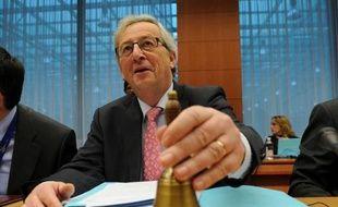 """Le Premier ministre luxembourgeois Jean-Claude Juncker a jugé lundi """"inacceptable"""" la proposition allemande de mettre la Grèce sous tutelle avec droit de veto sur les décisions budgétaires du gouvernement."""