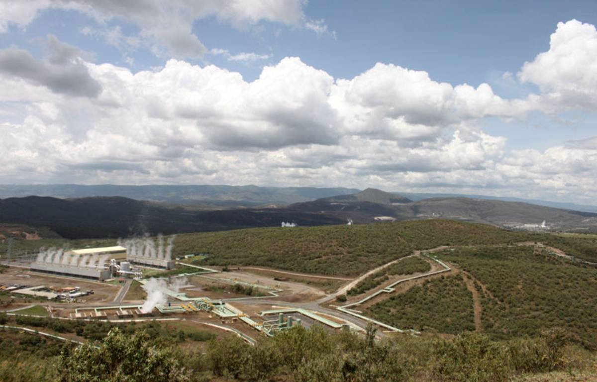 Le site de la centrale géothermique d'Olkaria, au Kenya, le 21 novembre 2014. – A.Chauvet/20Minutes