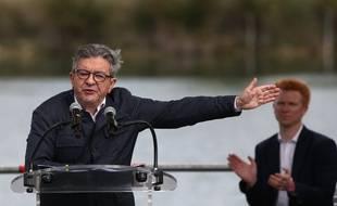 Le leader de la France Insoumise, Jean-Luc Mélenchon, aux universités d'été 2021 à Châteauneuf sur Isère le dimanche 29 Aout 2021. (Illustration)