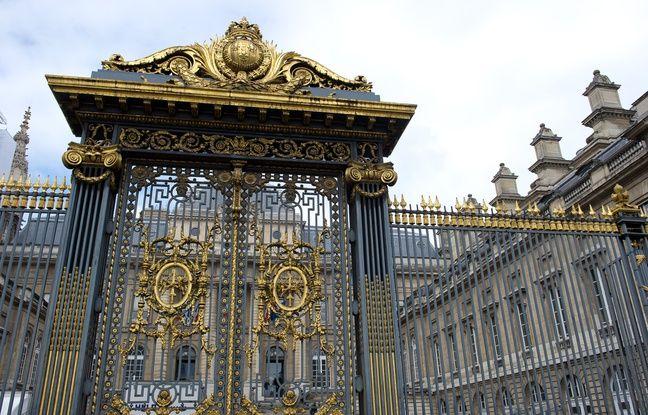 Paris le 24 avril 2012. Bd du palais. Tribunal de grande instance. TGI. Palais de justice de Paris.