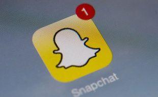 Illustration de Snapchat.
