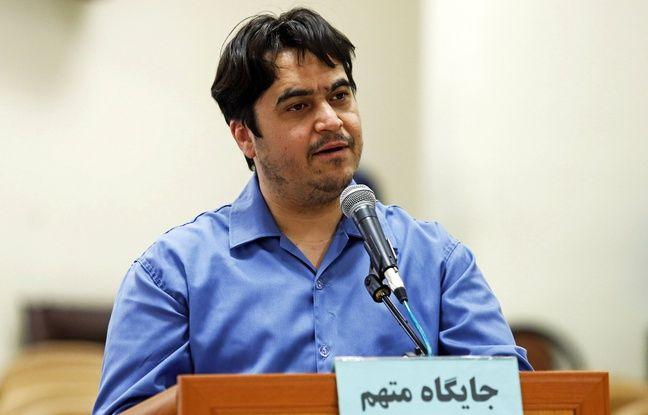648x415 le journaliste rouhollah zam lors de son proces le 2 juin 2020