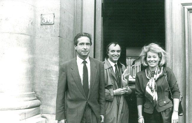 Claude Cancès, quelques semaines après avoir été nommé à la tête du 36 avec Martine Monteil et Patrick Riou. Tous deux furent également à la tête de la PJ parisienne.
