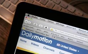 Le site français de partage de vidéos Dailymotion.