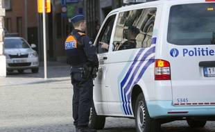 Un policier à Anvers, en Belgique (illustration).