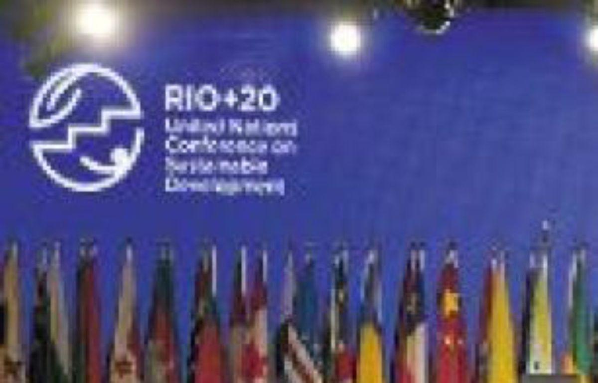 Rio+20 se tient jusqu'au 22 juin. –  S. IZQUIERDO / AP / SIPA