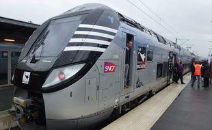Le premier Regio 2N a été inauguré le 15 octobre sur l'axe Rennes/Saint-Malo.