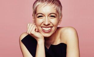 SuRie, candidate du Royaume-Uni à l'Eurovision 2018.