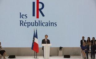 Nicolas Sarkozy, président des Républicains, le 30 mai 2015 à Paris.