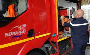 Un véhicule des pompiers de Loire-Atlantique (illustration).