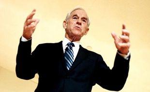 Le candidat à l'investitude républicaine, Ron Paul, le 28 octobre 2011.