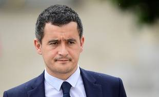 Le 19 juillet 2017, Gérald Darmanin. AFP PHOTO / Martin BUREAU