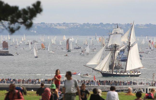 Des centaines de milliers de visiteurs sont attendus pour les fêtes maritimes de Brest.
