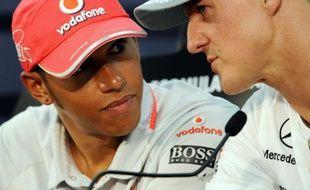 L'écurie de F1 Mercedes ne prolongera pas le contrat de pilote du septuple champion du monde Michael Schumacher qui arrive à son terme en fin de saison, pour le remplacer par le Britannique Lewis Hamilton, a annoncé vendredi le quotidien Bild.