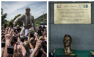 Johnny Hallyday, ou encore le footballeur Cristiano Ronaldo ont déjà eu le droit à des statues plus ou moins ressemblantes. Mais l'important c'est l'intention, non?