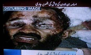 Image présentée par AP comme montrant le corps de Ben Laden, le 2 mai 2011
