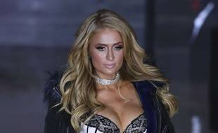 Paris Hilton le 9 novembre 2017 à Mexico.