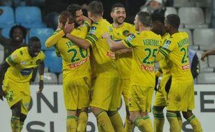 Le FC Nantes victorieux de Nice en Coupe de la Ligue, mercredi soir.