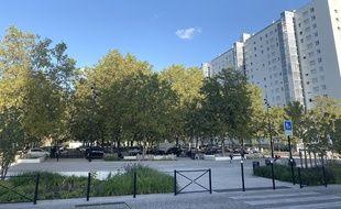 Les travaux de réaménagement de la place de l'Europe, dans le quartier du Grand-Parc à Bordeaux, sont jugés