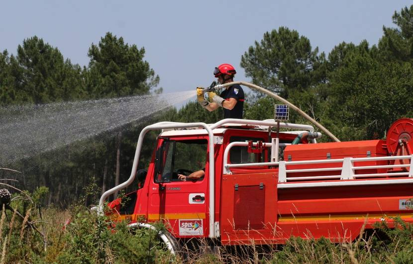 Bassin d'Arcachon : Plus de 50 hectares de pins détruits par le feu