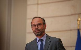 Edouard Philippe le 9 mai 2018 au palais de l'Elysée.