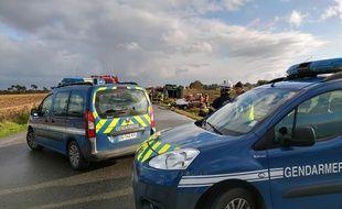 Trois jeunes frères ont perdu la vie dans un accident de la route à Ploudaniel dans le Finistère, le 15 novembre 2019.