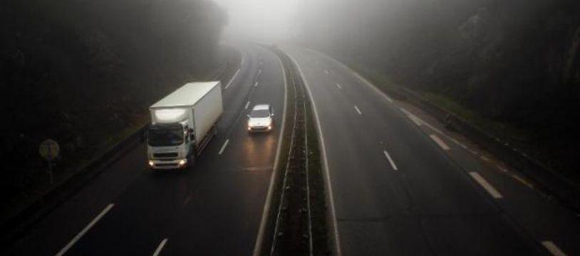 Les vingt clandestins pakistanais étaient à l'arrière du camion, provenant de l'Italie