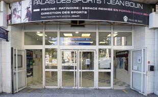 L'entrée du palais des sports Jean-Bouin, à Nice