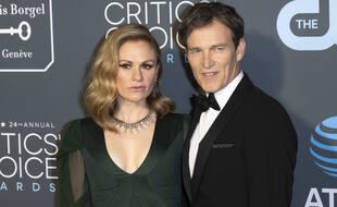 L'actrice Anna Paquin et son mari, l'acteur Stephen Moyer